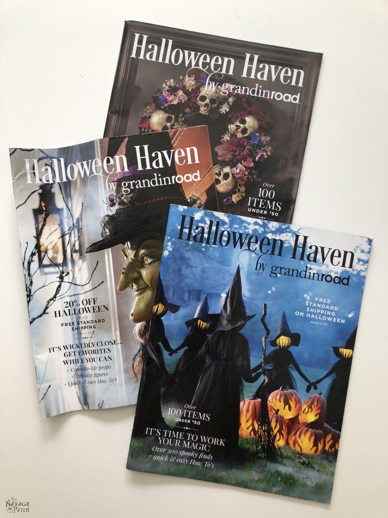 Grandin Road Halloween Catalogs