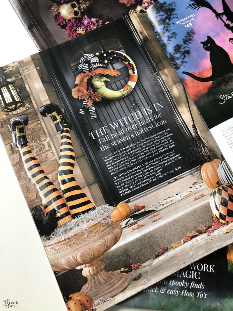 Grandin Road Halloween Catalog
