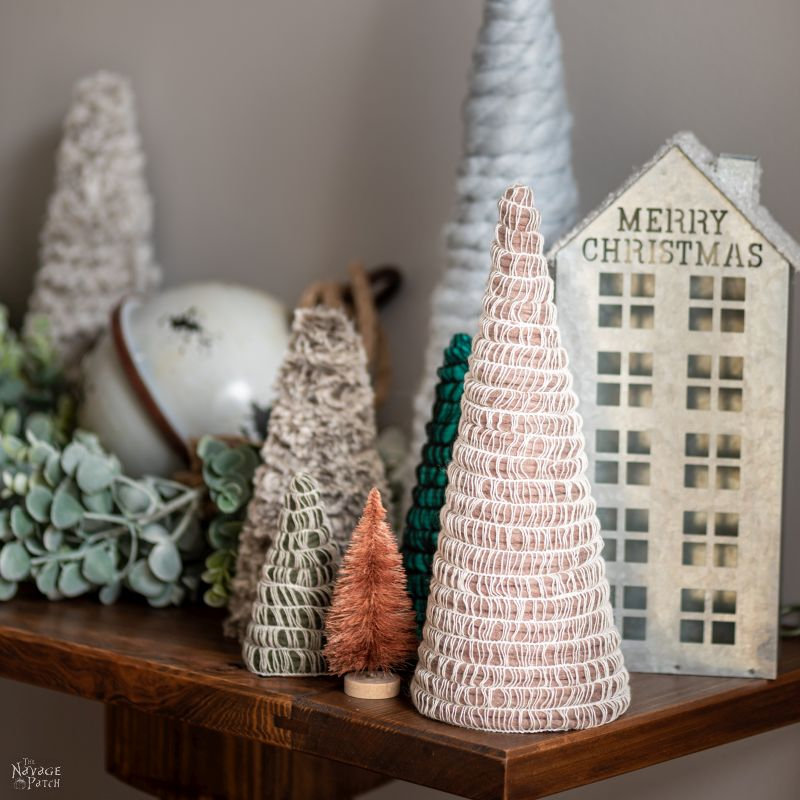 diy mambo yarn trees