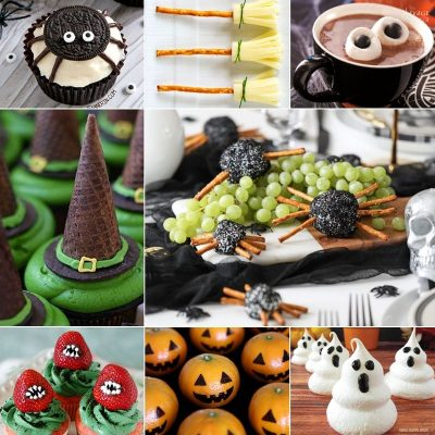 Easy Halloween Treats and Snacks Roundup by TheNavagePatch.com