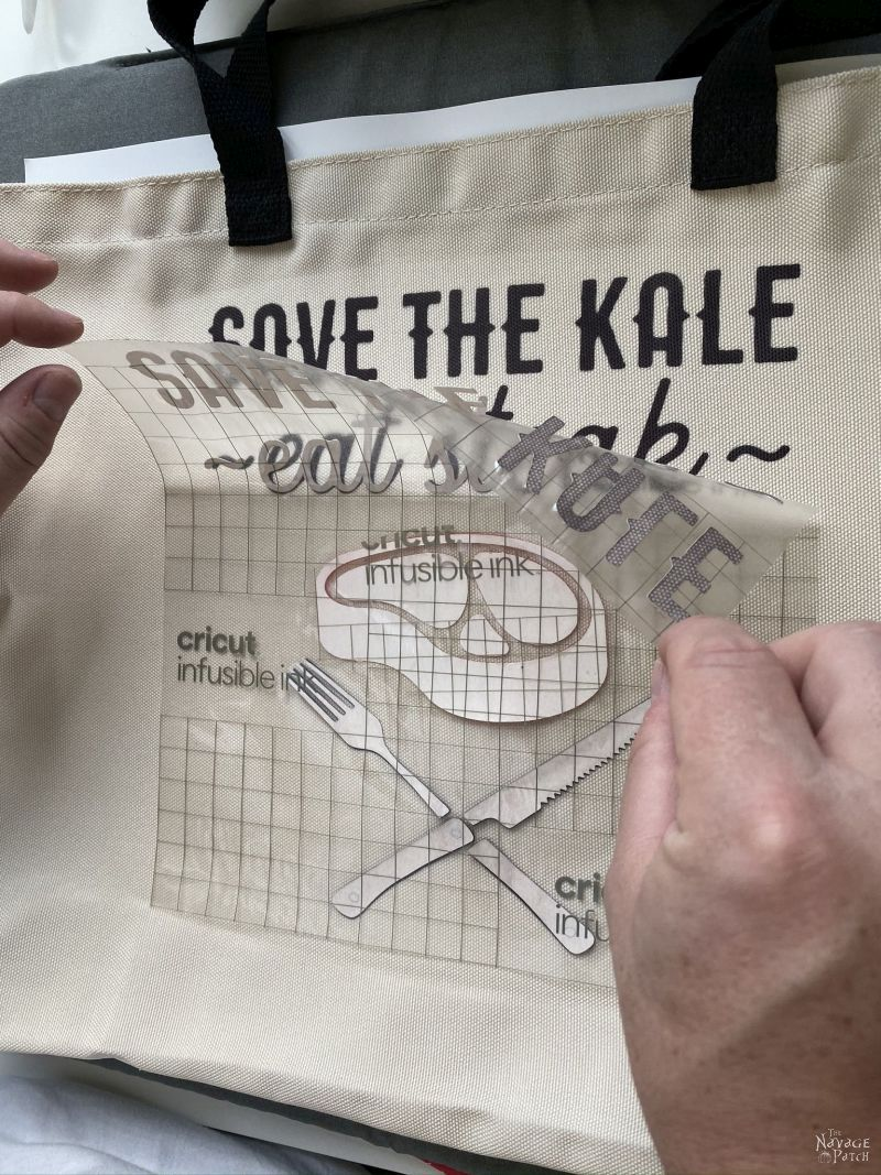 making tote bags with cricut