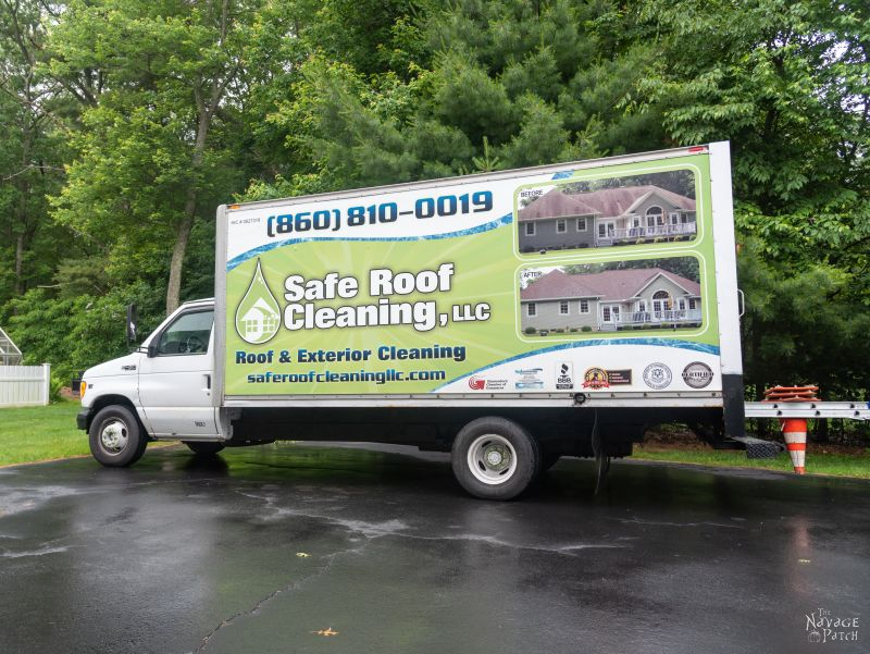 safe roof cleaning llc truck