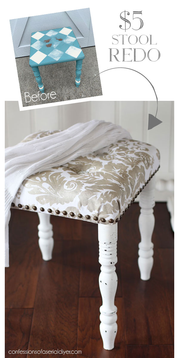 Beautiful Furniture Makeover curated by TheNavagePatch.com