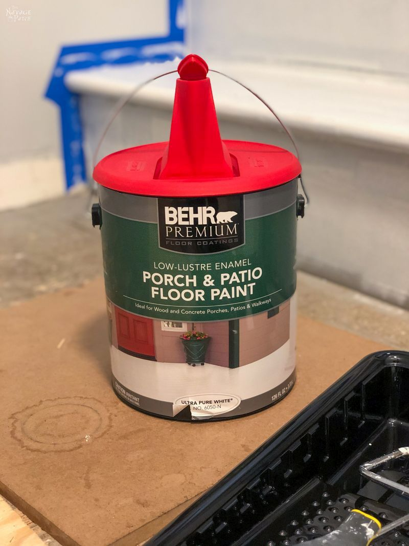 gallon of behr floor paint