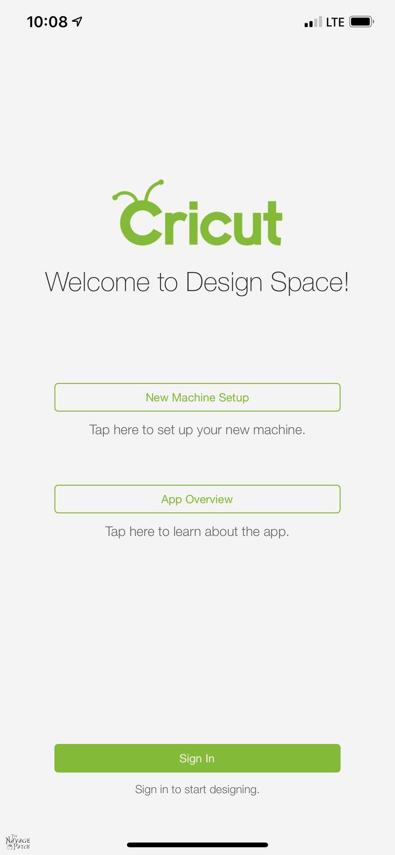 Cricut Joy design space