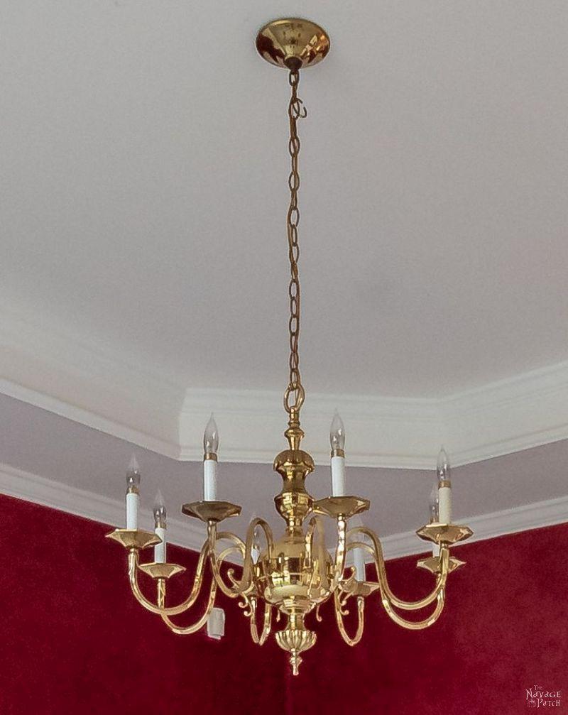 builder grade chandelier
