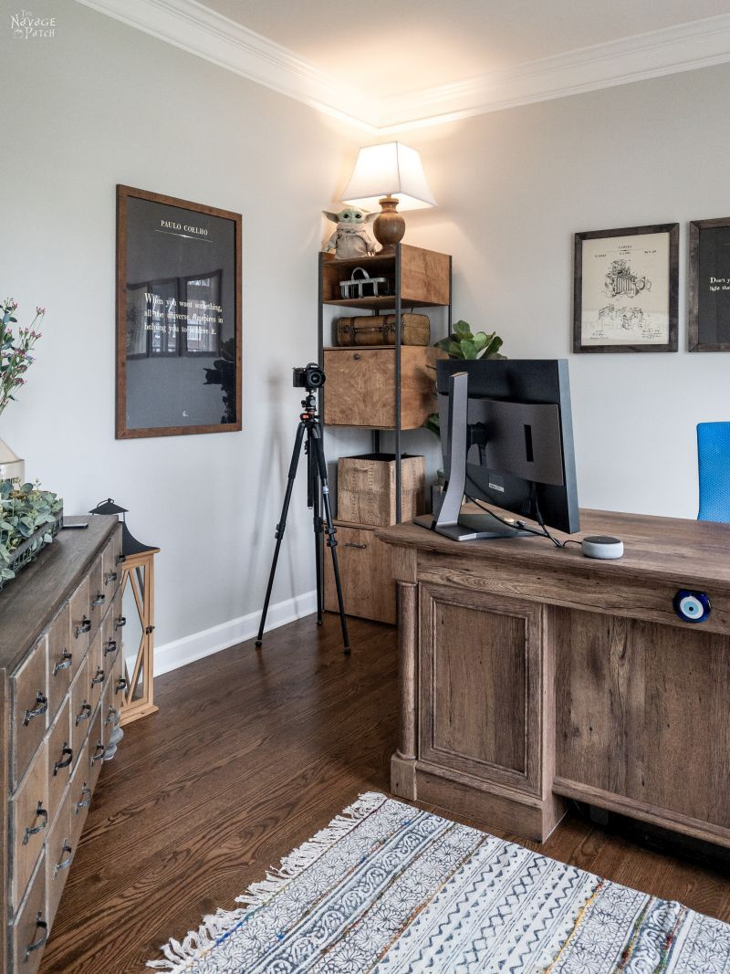 Home Office Makeover - TheNavagePatch.com