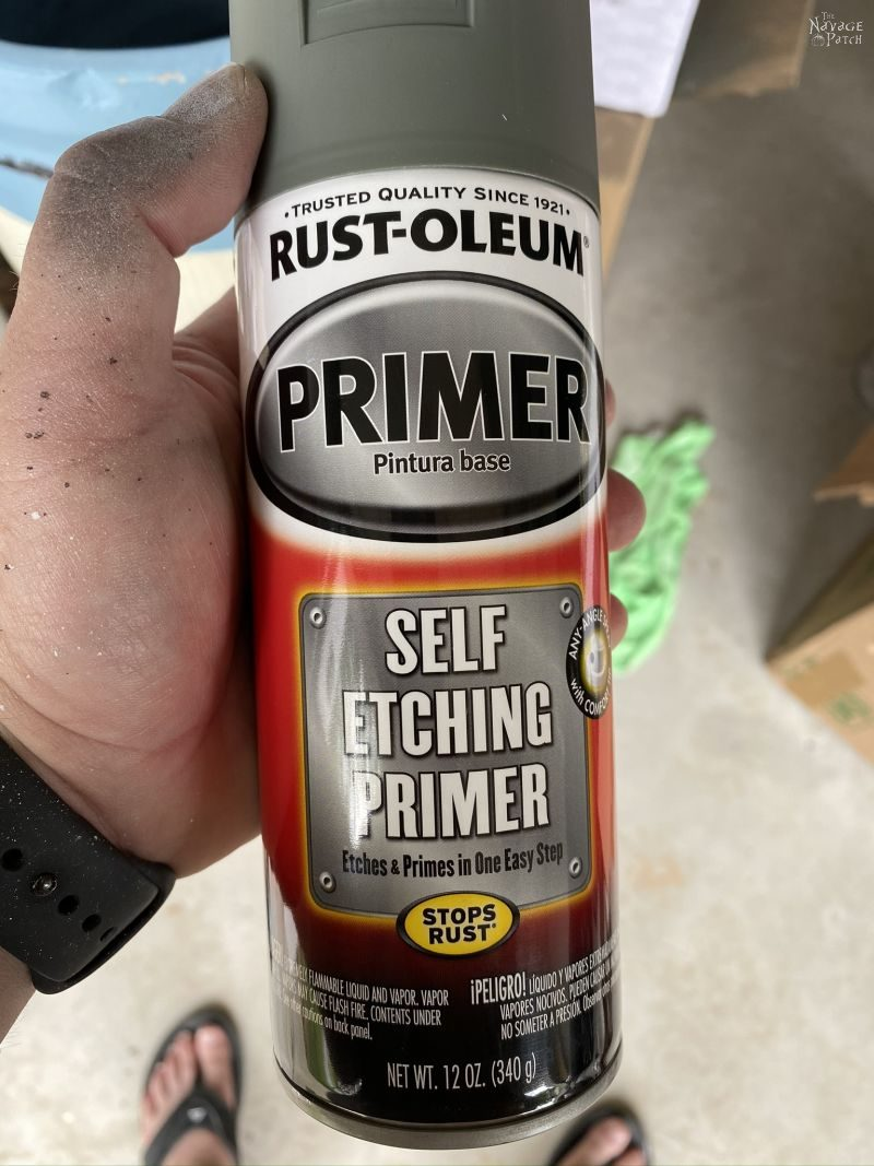 Can of Rustoleum Self Etching Primer