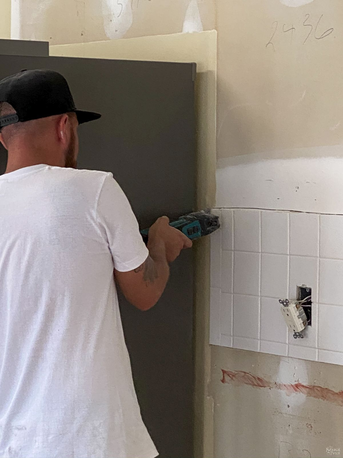 removing tile with a sawzall