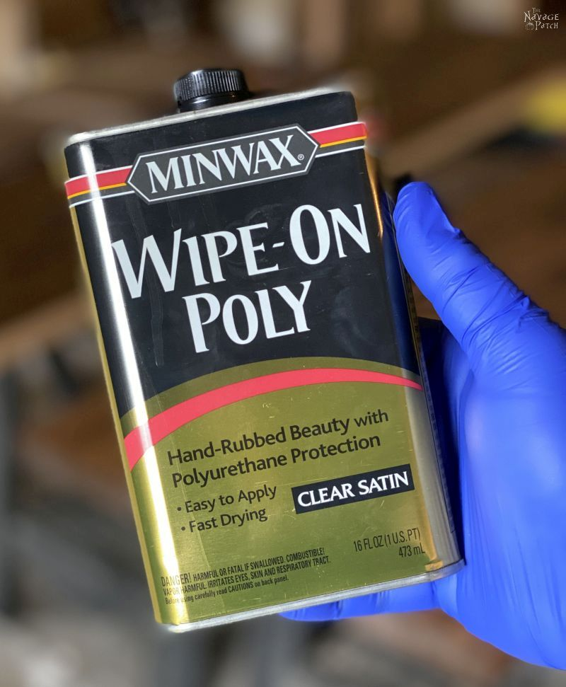 can of wipe-on polyurethane