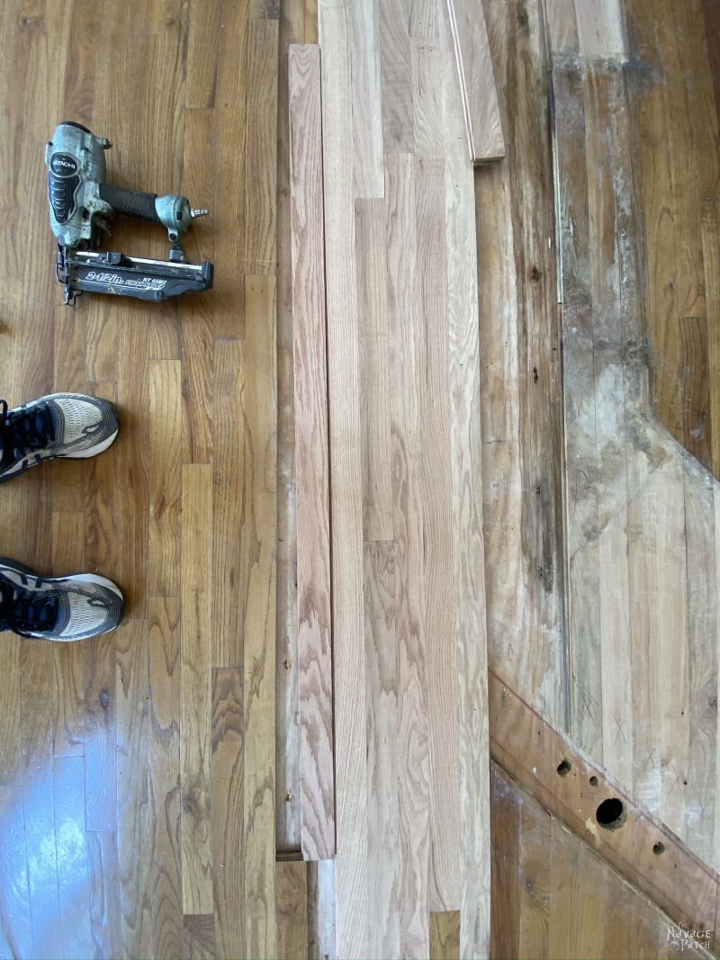 fixing a wood floor