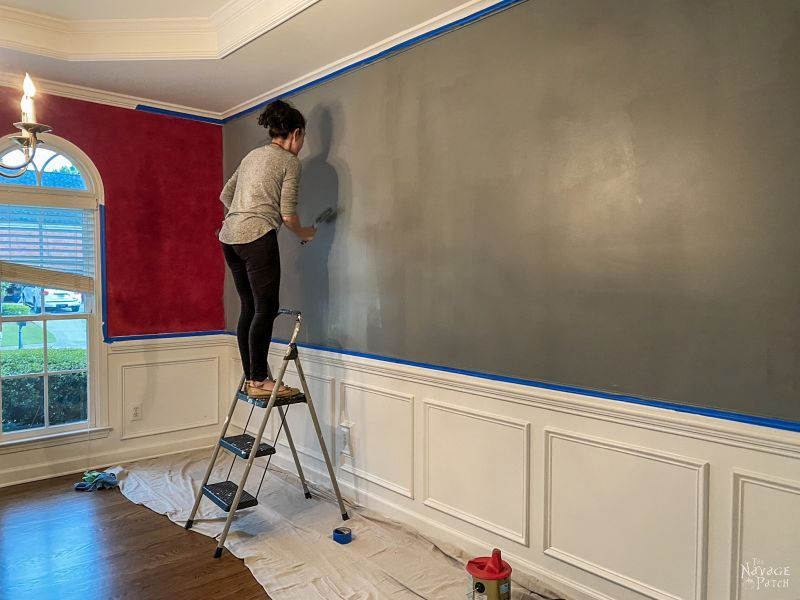 painting a dining room