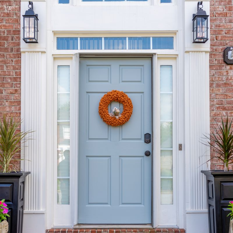How to Paint a Front Door - TheNavagePatch.com
