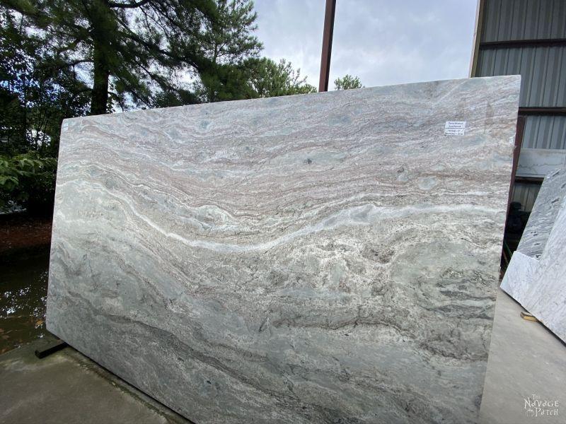 quartzite slab