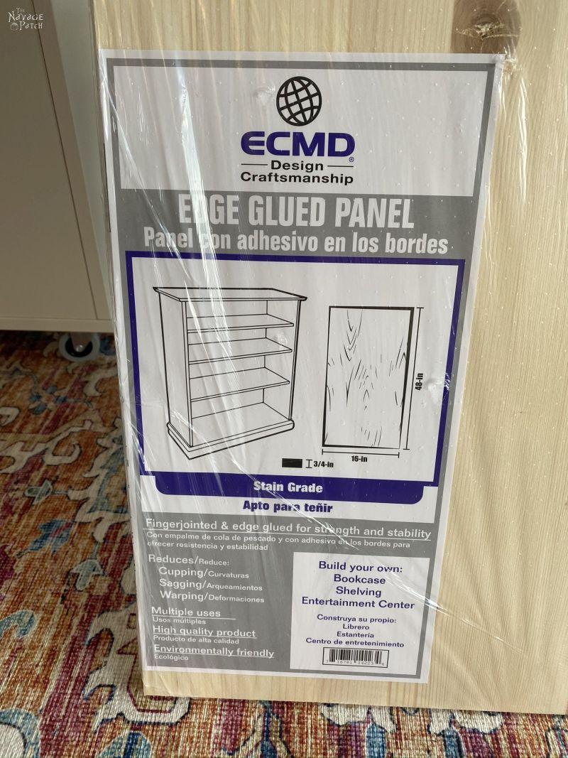 edge-glued panel