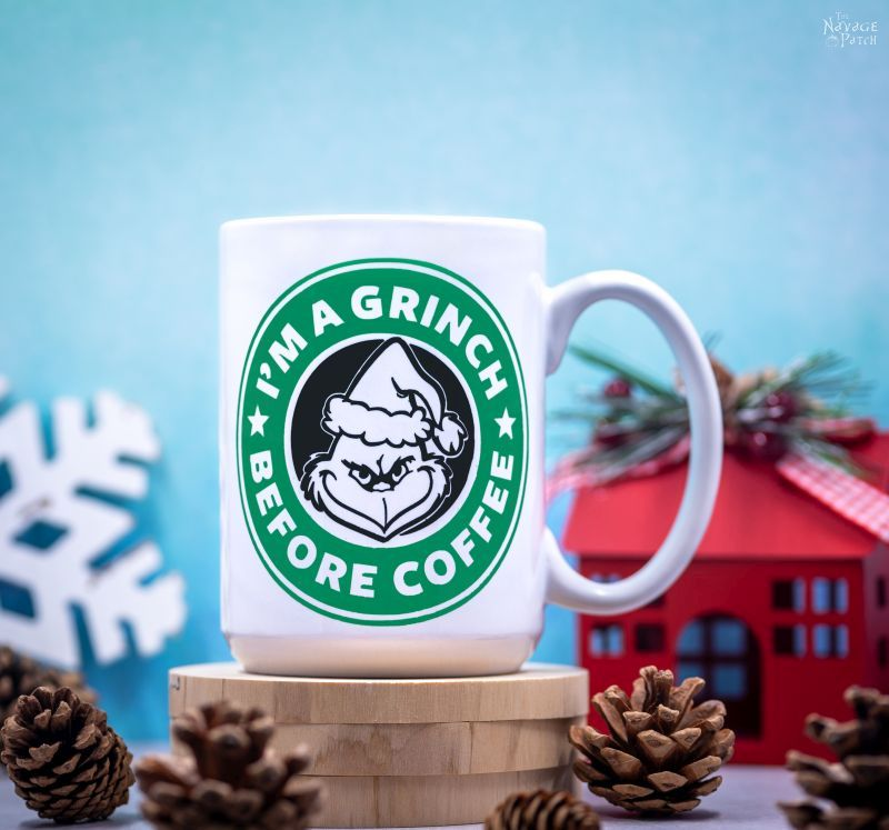 DIY Personalized Mugs with Cricut Infusible Ink and Cricut Joy – TheNavagePatch.com