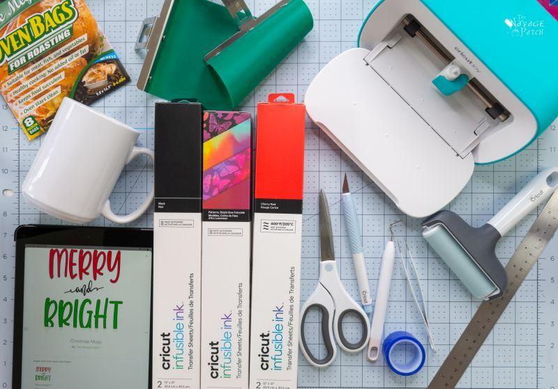 diy personalized mugs supplies