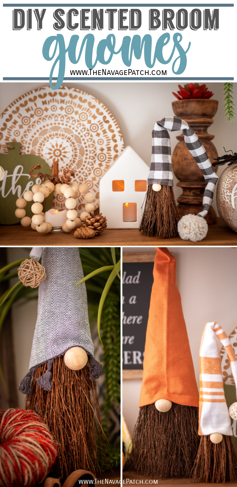 DIY Scented Broom Gnomes – TheNavagePatch.com