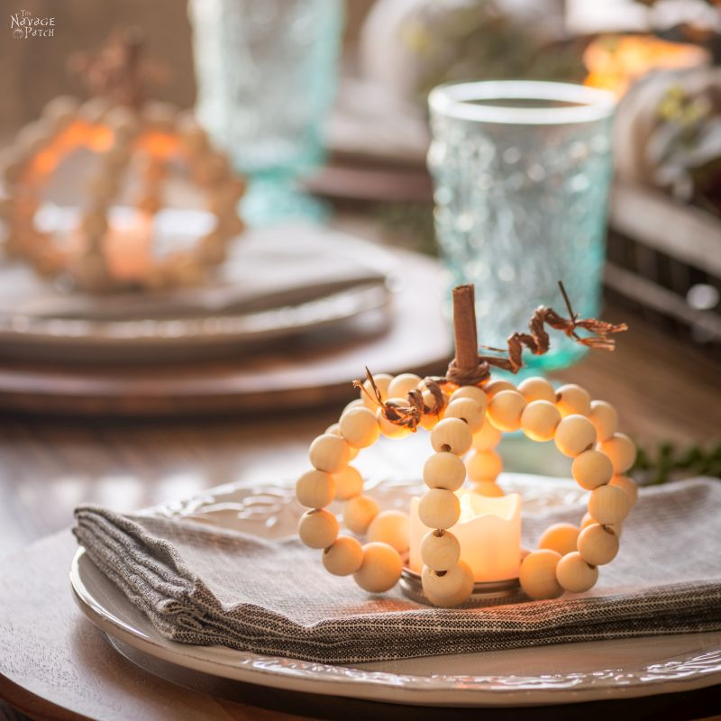 DIY Wood Bead Pumpkins – TheNavagePatch.com