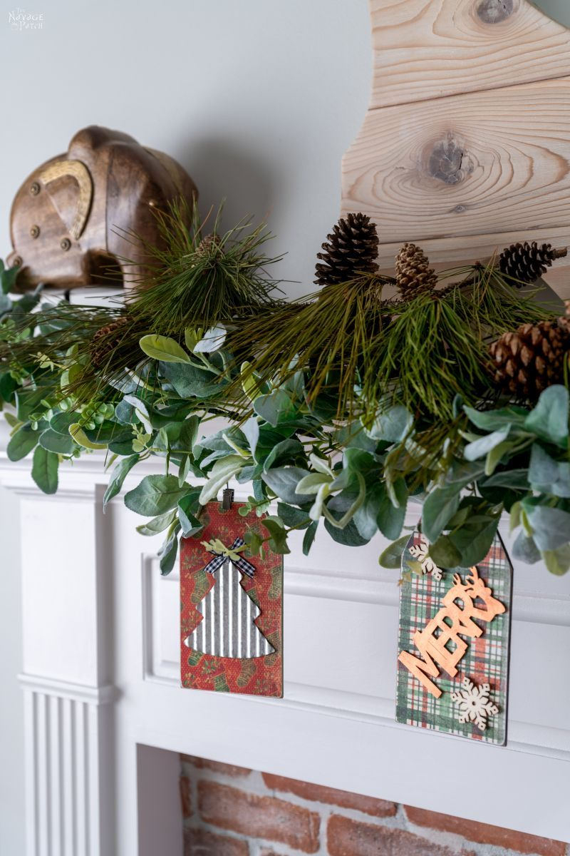DIY Dollar Store Christmas Garland - TheNavagePatch.com