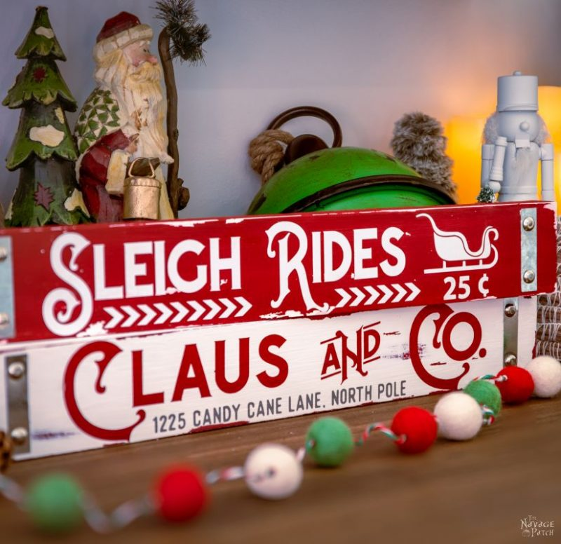 DIY Dollar Tree Christmas Signs – TheNavagePatch.com