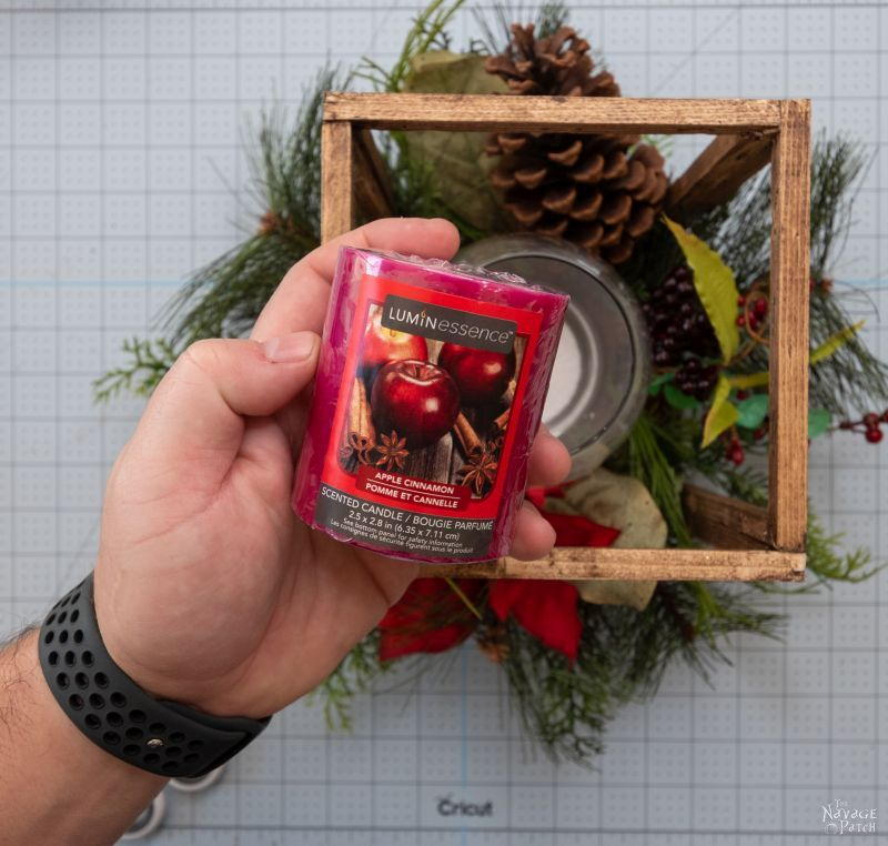 dollar tree scented candle