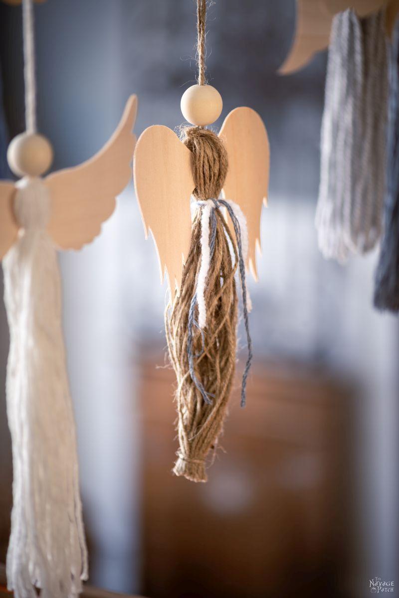 DIY Tassel Angels - TheNavagePatch.com
