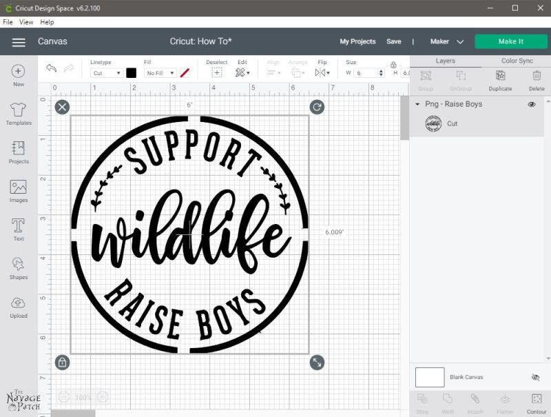 How to Upload Images to Cricut Design Space - TheNavagePatch.com