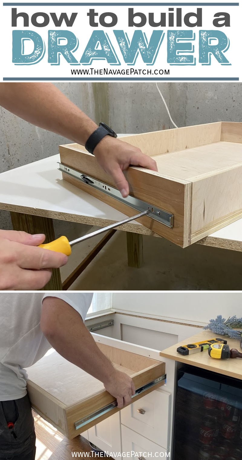 How to Make a Drawer and Vanity Repurpose - TheNavagePatch.com