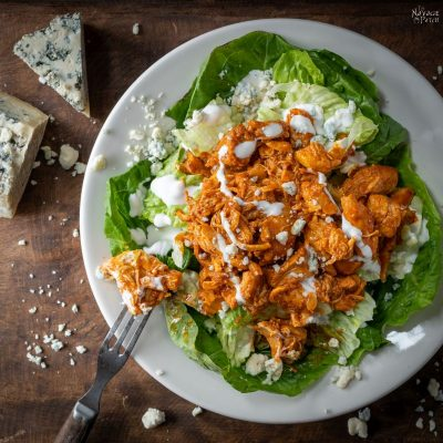 Buffalo Chicken Salad - TheNavagePatch.com