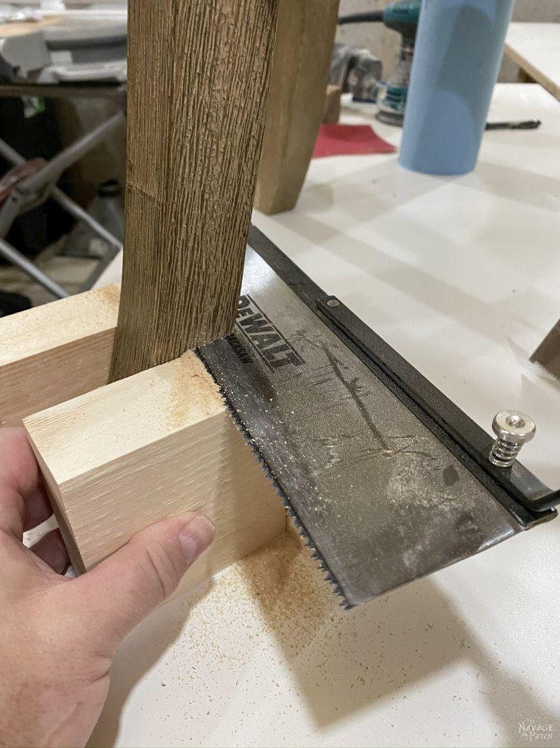 how to shorten barstool legs