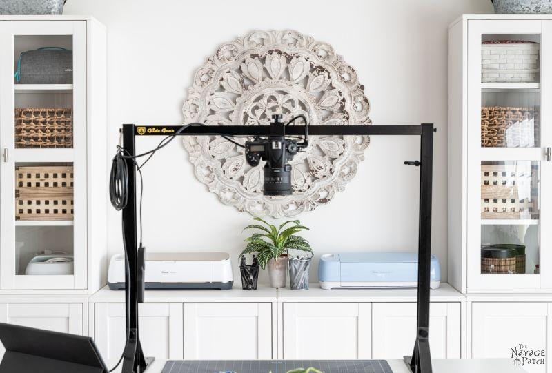 New Craft Room - TheNavagePatch.com