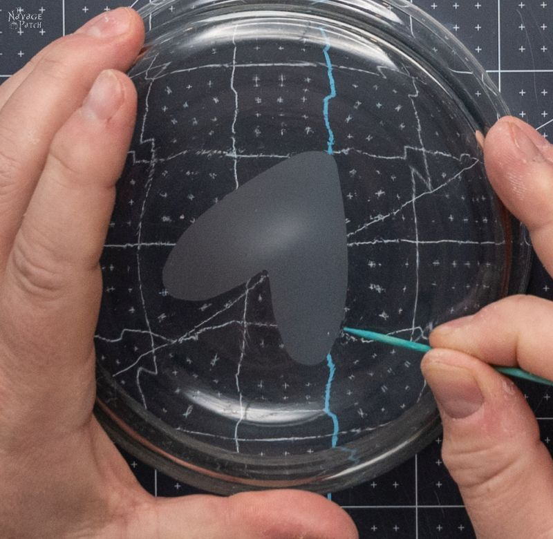 fixing a flawed etch