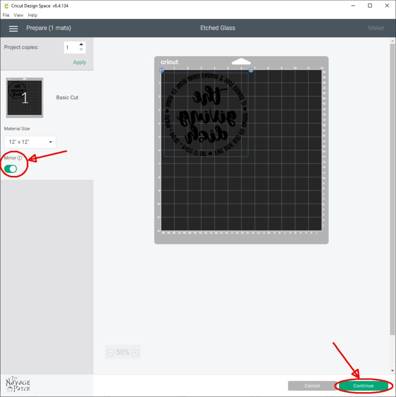 giving dish svg in cricut design space