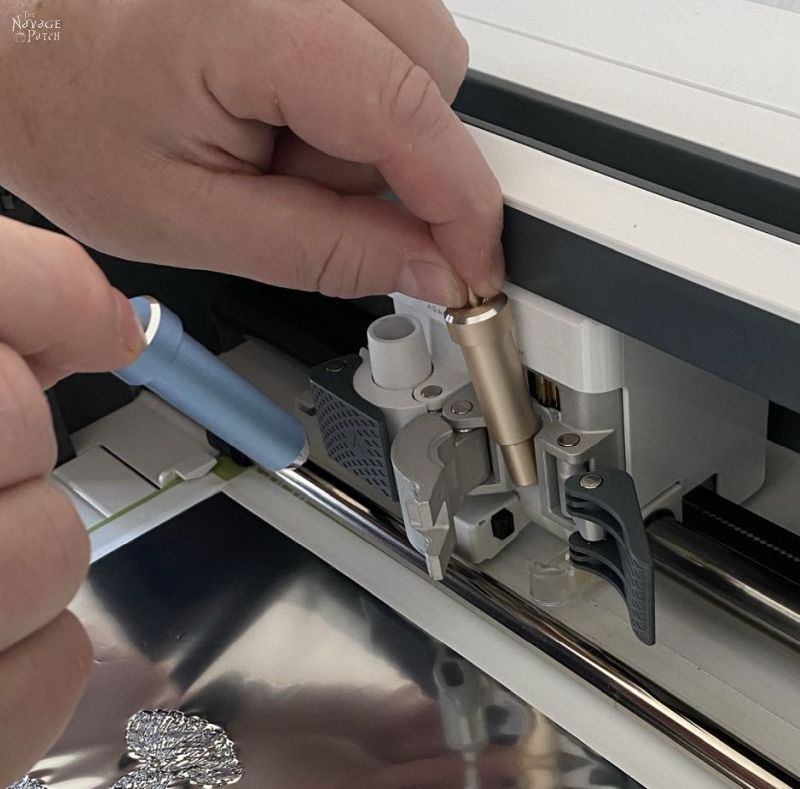 using cricut maker for foiling