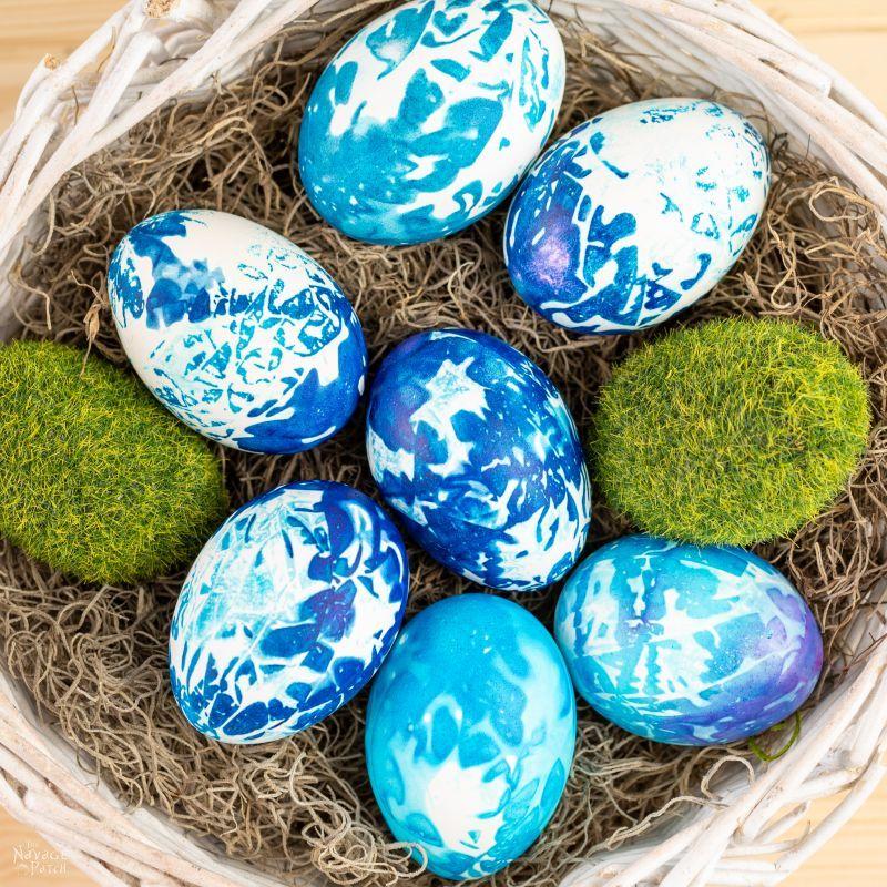 DIY Shibori Easter Eggs – TheNavagePatch.com