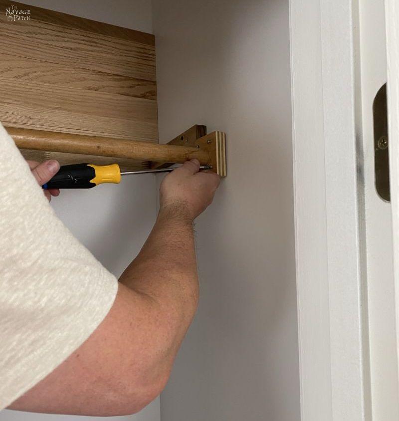 installing a hanger rod
