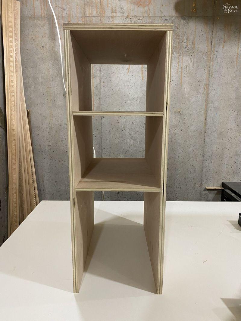 building closet storage shelves
