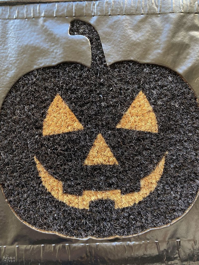 pumpkin door mat