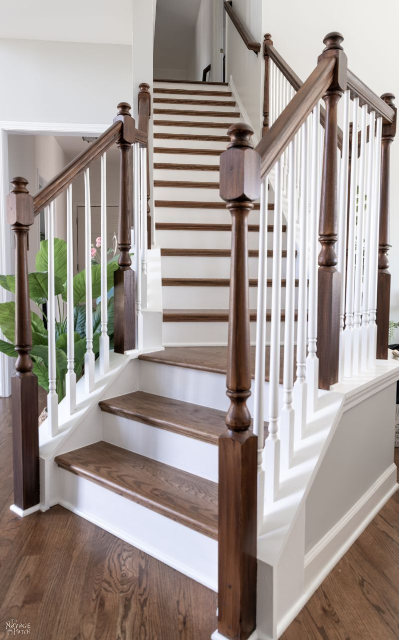 Staircase Makeover - TheNavagePatch.com