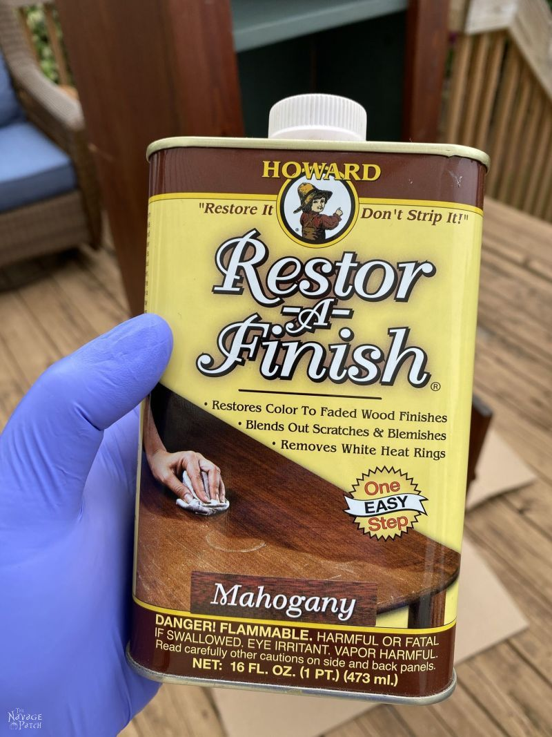 can of restore a finish