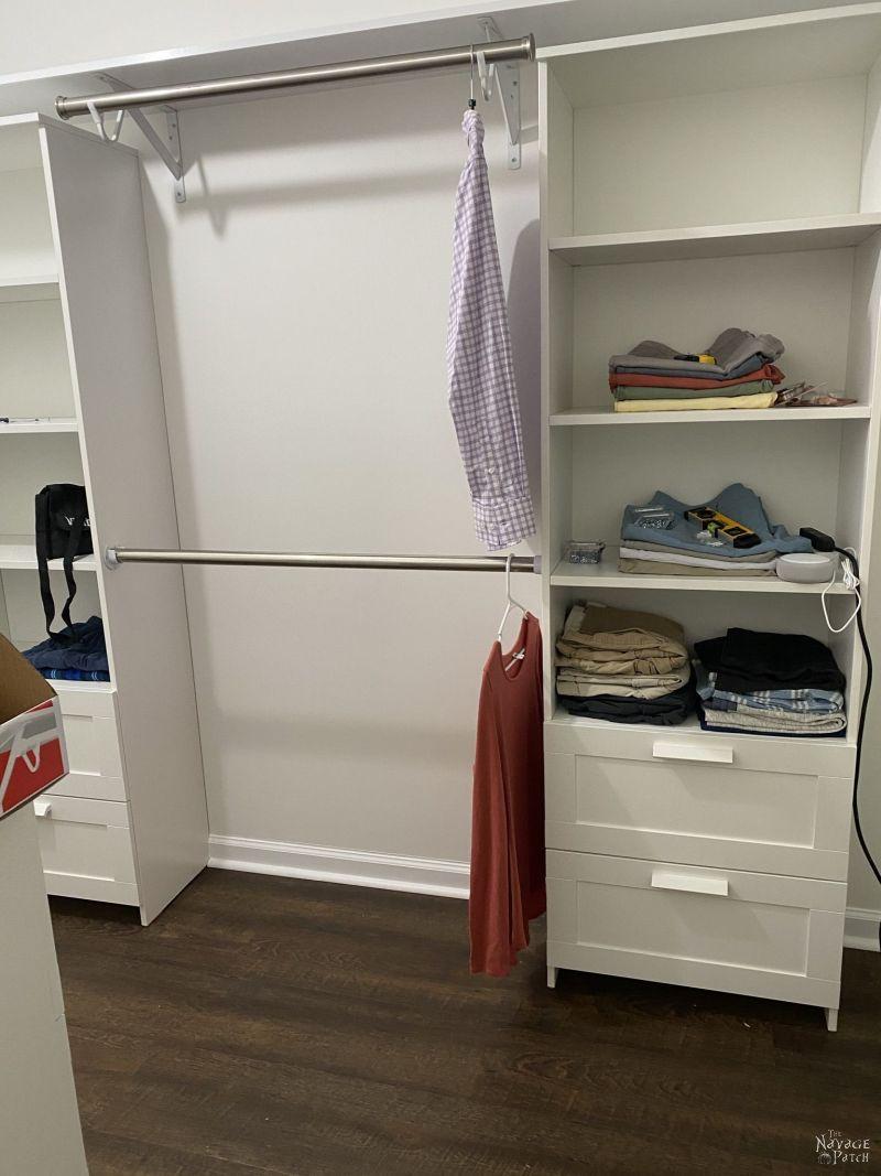 brimnes closet system