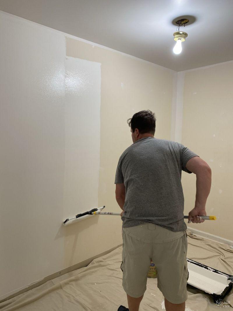 painting a master closet