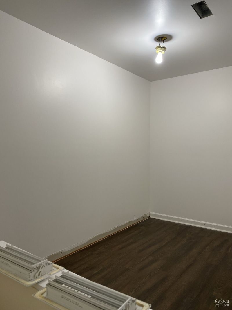 painted master closet