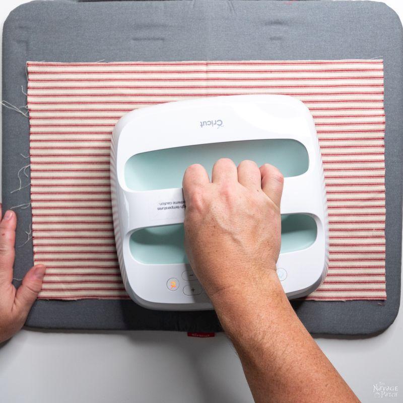 ironing fabric