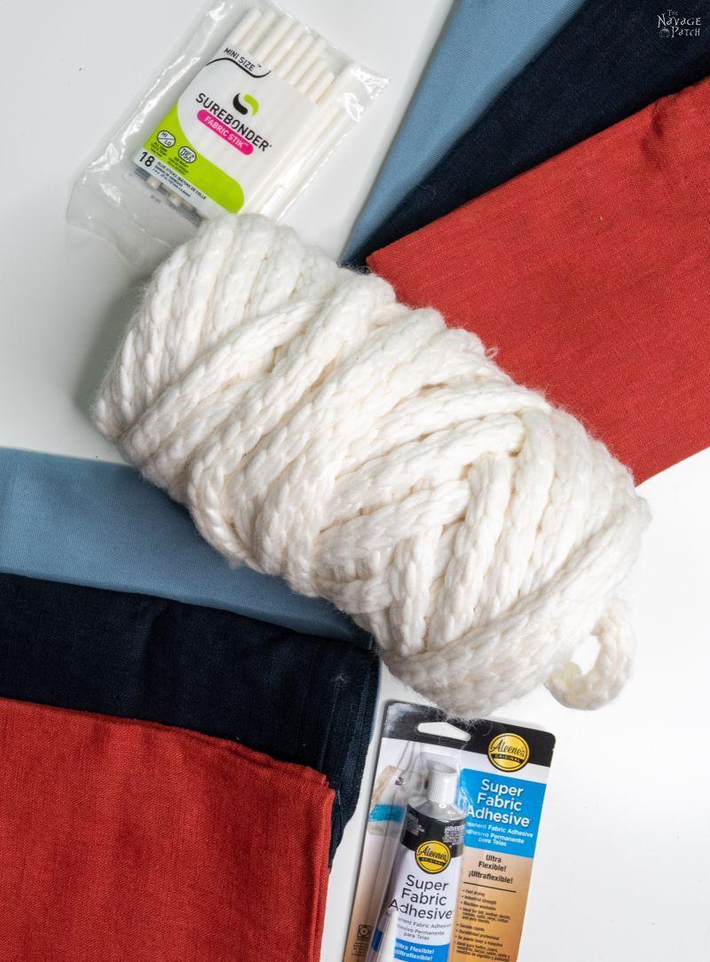 diy throw pillow supplies