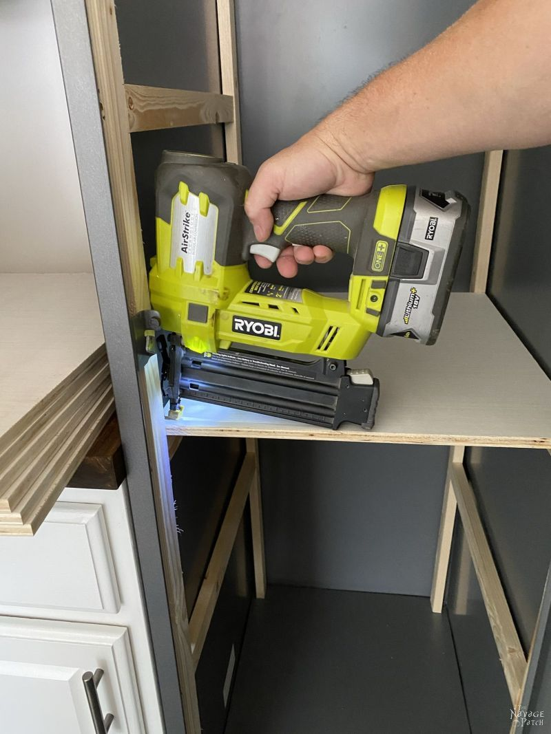 building diy metal locker shelves
