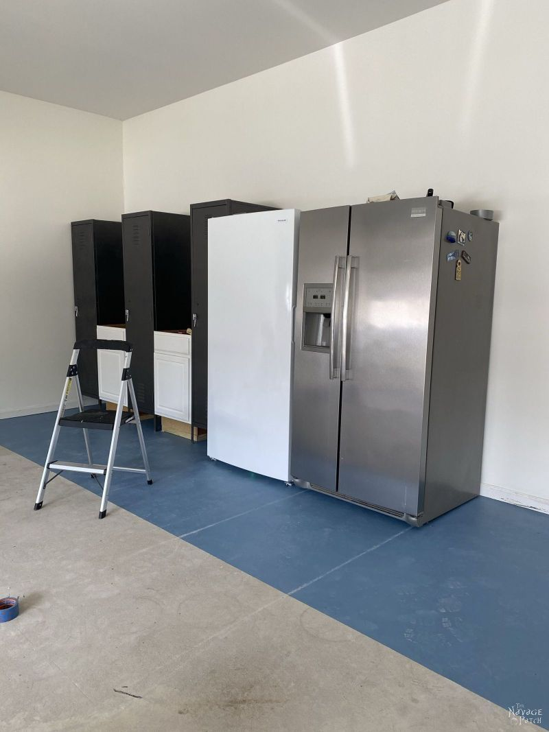 building a locker storage unit