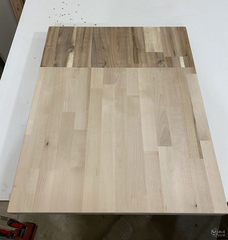 making a countertop from wood