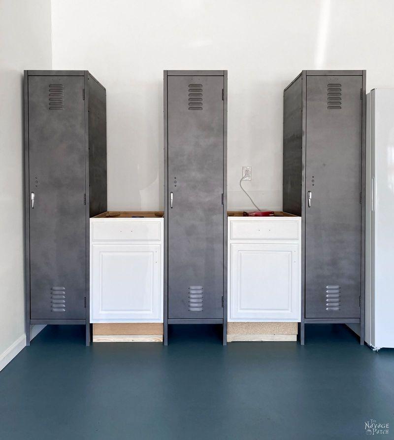 building garage locker storage